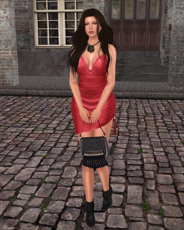 Baiastice - Aylen Dress and  DeLa - Thessy Hair