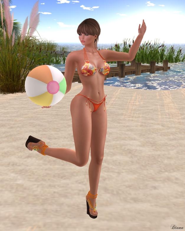 !Rebel Hope - Majorca Mesh Bikini