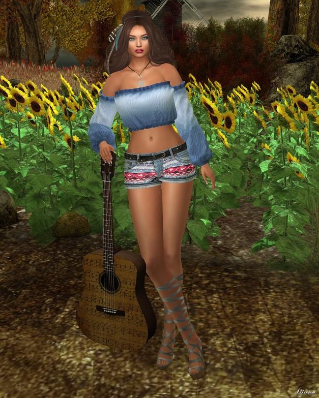 lapointe-bastchild-swear-boho-blouse-and-boho-jeans-shorts
