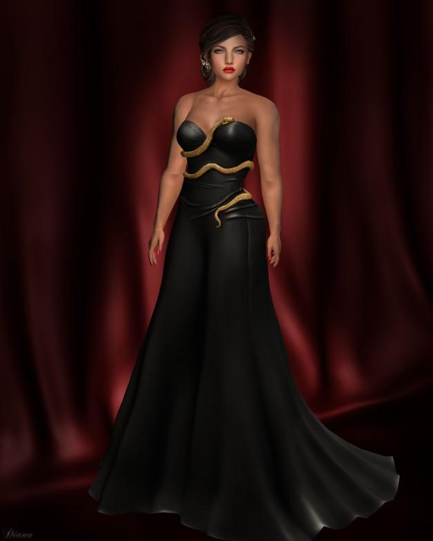 just-because-venom-gown